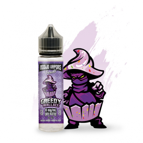 Greedy Wallace 50 mL - Liquidarom